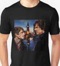 John and Sherlock in London Unisex T-Shirt