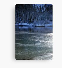 Freezing Canvas Print
