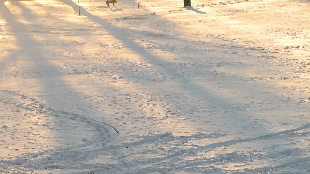 Winter scene by ANibbe