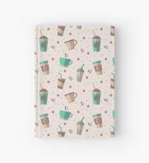 Cofee Pattern Hardcover Journal