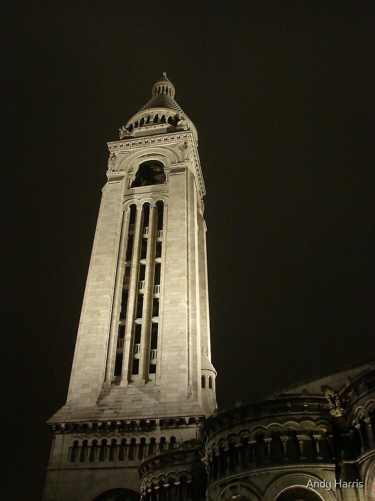 Sacre Coeur Tower by Andy Harris