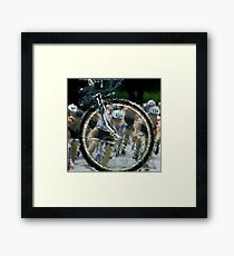 Bicycle Tour en France, Giro, race Framed Print