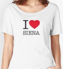I ♥ SIENA Women's Relaxed Fit T-Shirt