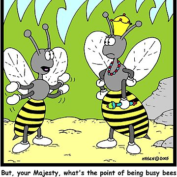 Busy Bees by Hagen