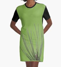 Pine needle Graphic T-Shirt Dress
