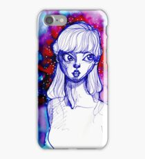 Blue Girl Four iPhone Case/Skin