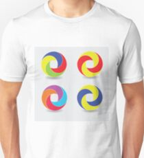 set of round icons T-Shirt
