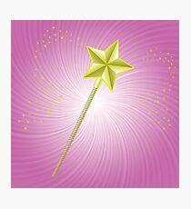 magic wand Photographic Print