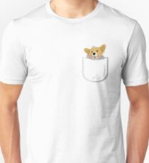 Pocket Corgi Pup T-Shirt