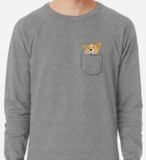 Pocket Corgi Pup Lightweight Sweatshirt