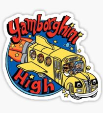 Yamborghini High Sticker