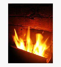 Fireplace Photographic Print