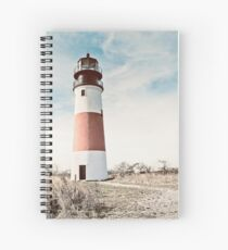 Sankaty Head Lighthouse on the island of Nantucket MA Spiral Notebook