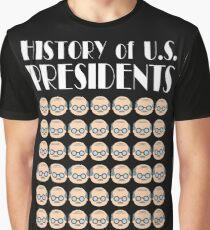 History of US Presidents Graphic T-Shirt