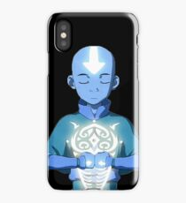 Aang's Avatar State with Raava iPhone Case