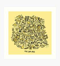 Mac DeMarco 'This Old Dog' Album Art Print