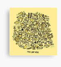 Mac DeMarco 'This Old Dog' Album Canvas Print