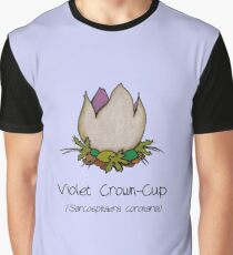Violet Crown-Cup (no smiley face) Graphic T-Shirt