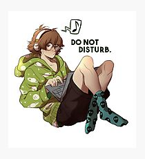 Do not disturb. Photographic Print