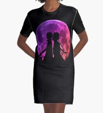 Asuna Kirit Moon Inspired Anime Shirt Graphic T-Shirt Dress