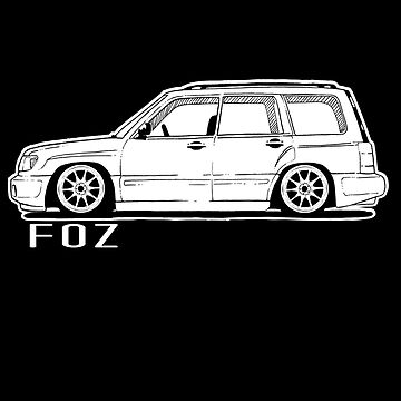 Subaru Forester FOZ Shirt Sticker and More! by WhyTee1300