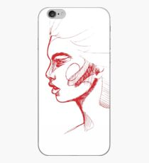Red Girl One iPhone Case