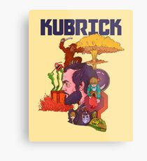 The Mind of Kubrick Metal Print