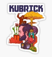 The Mind of Kubrick Sticker