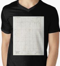 USGS TOPO Map Colorado CO Sunnydale 234659 1949 24000 Mens V-Neck T-Shirt