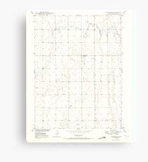 USGS TOPO Map Colorado CO Sunnydale 234659 1949 24000 Canvas Print