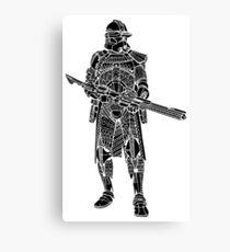Samurai Trooper  Canvas Print
