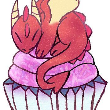 Cupcake Dragon by SarahArundale