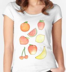 More Fruits Women's Fitted Scoop T-Shirt