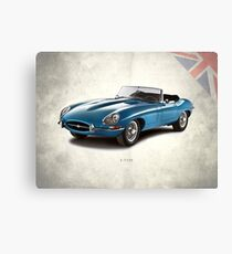 The Series 1 E-Type Canvas Print