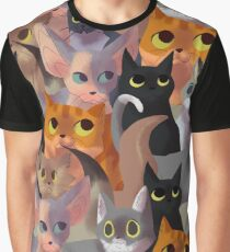 Lotsa cats Graphic T-Shirt