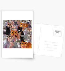 Lotsa cats Postcards