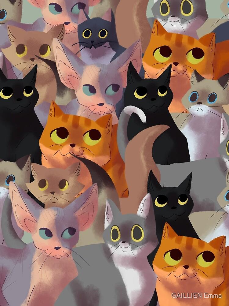 Viele Katzen von CookieKipenda