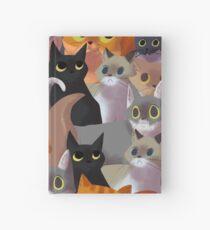 Lotsa cats Hardcover Journal