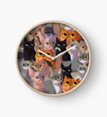 Reloj Gatos de Lotsa