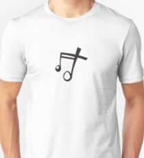 Music Song Symbol Musical Note - White T-Shirt