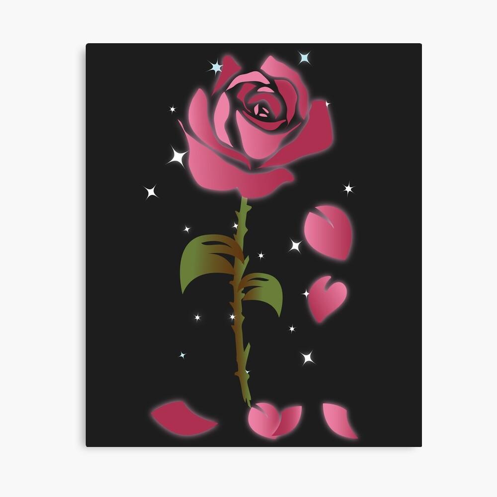 Rose Princess - Movie Petals - Princess Stuff Canvas Print