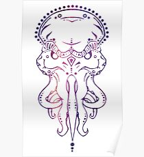 Cthulhu in the Sky with Diamonds Poster