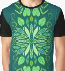 Bali Green Graphic T-Shirt