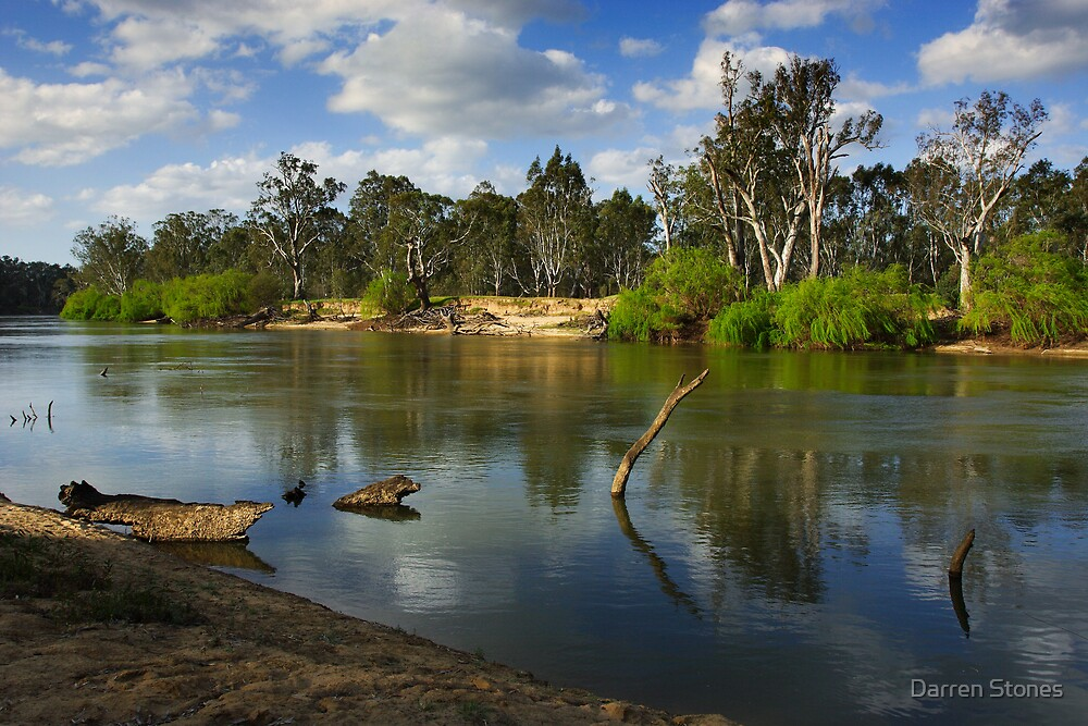 Quot Murray River At Corowa Quot By Darren Stones Redbubble