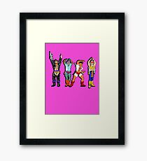 YMCA He-Man Framed Print