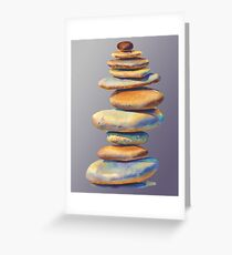 The Stone Mind Violet Edition Greeting Card