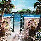 Green Gate by WhiteDove Studio kj gordon