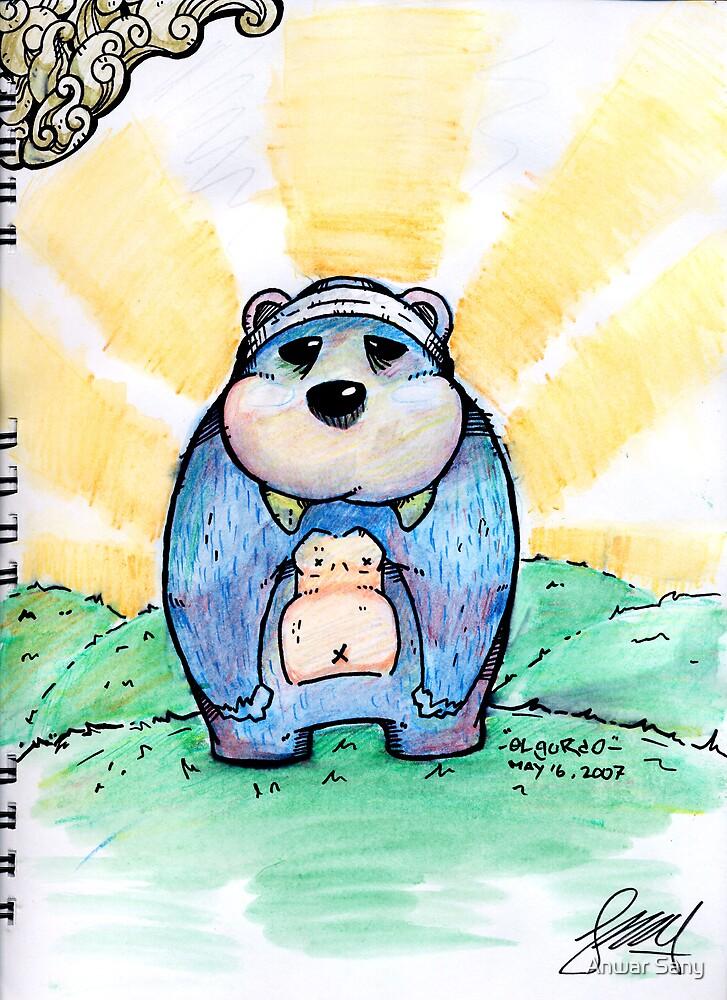 Wally the wallrus bear by Anwar Sany