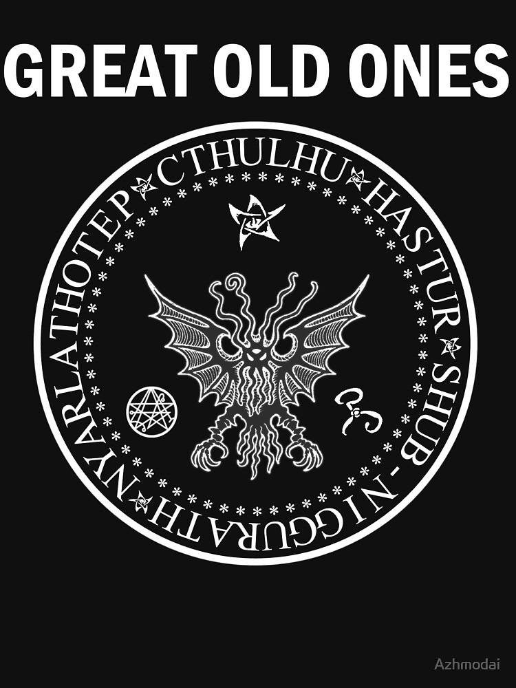 Seal of the Great Old Ones - White by Azhmodai