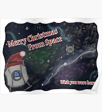 Merry SPACEmas... so much space  Poster